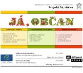 Náhled webu - Ja-obcan.info
