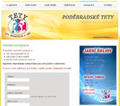 Náhled webu - Podebradsketety.cz